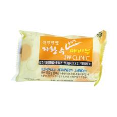 Мыло для лица и тела с коллагеном 3W Clinic Collagen Dirt Soap