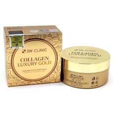 Гидрогелевые патчи под глаза на основе экстракта золота 3W Clinic Collagen Luxury Gold Hydrogel Eye Patch