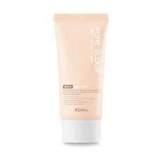 Мягкий солнцезащитный крем Apieu Pure Block Mild Plus Sun Cream