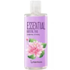 Тонер для сухой кожи с лотосом Berrisom Essential Boosting Toner - Lotus