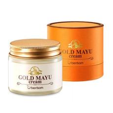 Питательный крем для лица с лошадиным жиром Berrisom Gold Mayu Cream