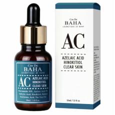 Интенсивная сыворотка против акне с азелаиновой кислотой Cos De Baha AC Azelaic Acid Hinokitiol Clear Skin Serum