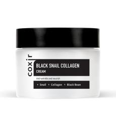 Антивозрастной питательный крем для лица Coxir Black Snail Collagen Cream