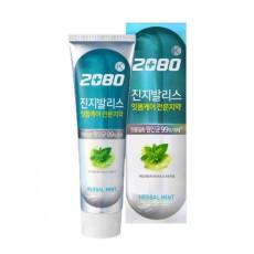 Зубная паста антибактериальная мята+целебные травы Dental Clinic 2080 K Herbal Mint