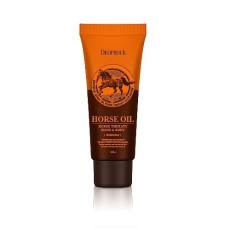Крем для тела и рук с лошадиным жиром Deoproce Horse Oil Hand & Body Cream