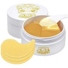 Гидрогелевые патчи с гиалуроновой кислотой и золотом Elizavecca Hell-pore Gold Hyaluronic Acid Eye Patch