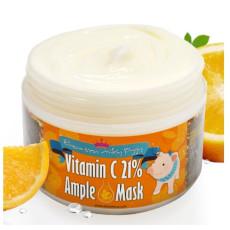 Маска с витамином С для тусклой кожи Elizavecca Vitamin C 21% Ample Mask
