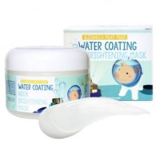 Маска для лица ночная увлажняющая Elizavecca Water Coating Aqua Brightening Mask