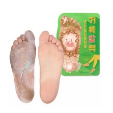 Пилинг носочки с кислотами Elizavecca Witch Piggy Hell-Pore Turtles Foot Pack