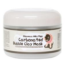 Глиняная пенная маска для лица Elizavecca Milky Piggy Carbonated Bubble Clay Mask
