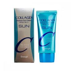 Солнцезащитный крем с коллагеном SPF 50+ PA+++  Enough Collagen Moisture Sun Cream