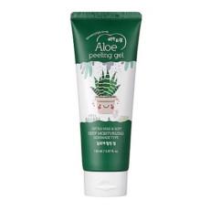 Пилинг скатка для лица с алое Esfolio Aloe Peeling Gel