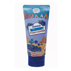 Пенка с черникой для яркости кожи Esfolio Foam Cleanser - Powwow Blueberry