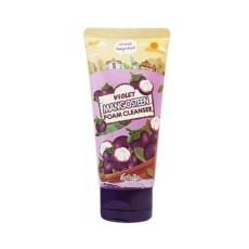 Пенка с экстрактом мангустина для сухой кожи Esfolio Foam Cleanser - Violet Mangosteen