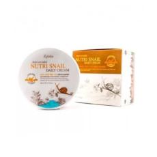 Крем для лица с муцином улитки Esfolio Nutri Snail Daily Cream