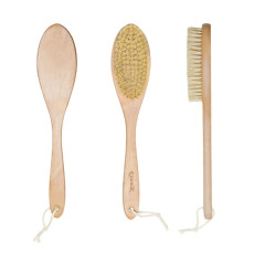Дренажная щётка для сухого массажа бук/сизаль Esthetic House Dry Massage Brush Wax