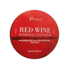 Гидрогелевые патчи с красным вином Esthetic House Red Wine Hydrogel Eyepatch