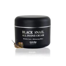 Крем для лица с черной улиткой Eyenlip Black Snail All In One Cream