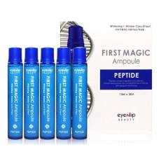 Сыворотка лифтинг с пептидами Eyenlip First Magic Ampoule Peptide