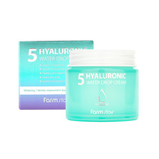 Увлажняющий крем с 5 видами гиалуроновой кислоты Farm Stay 5 Hyaluronic Water Drop Cream
