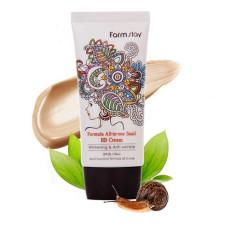 Многофункциональный ББ-крем с экстрактом улитки Farm Stay All in one Snail Sun BB Cream