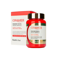Ампульная кремовая сыворотка с керамидами Farm Stay Ceramide Firming Facial Cream Ampoule