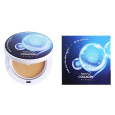 Компактная пудра с коллагеном СПФ 50+ Farm Stay - Collagen UV Pact #21
