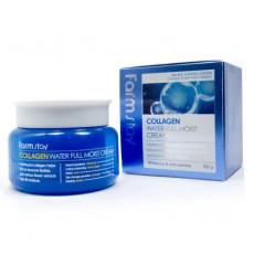Увлажняющий крем с коллагеном Farm Stay Collagen Waterfull Moist Cream