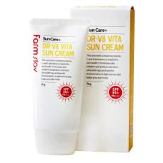 Солнцезащитный крем с витаминным комплексом Farm Stay DR-V8 Vita Sun Cream