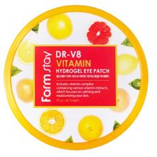 Гидрогелевые патчи с витаминным комплексом Farm Stay DR-V8 Vitamin Hydrogel Eye Patch