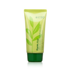 Солнцезащитный увлажняющий крем с семенами зеленого чая SPF 50/PA+++ Farm Stay Green Tea Seed Moisture Sun Cream