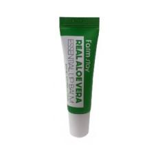 Бальзам для губ с алое Farm Stay Real Aloe Essential Lip Balm - Aloe