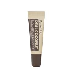 Питательный бальзам для губ с кокосом Farm Stay Real Essential Lip Balm - Coconut