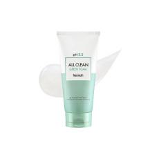 Слабокислотный гель для умывания для чувствительной кожи Heimish All Clean Green Foam