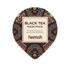 Антиоксидантная маска против отеков Heimish Black Tea Mask Pack