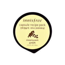 Ночная осветляющая маска с рисом Innisfree Capsule recipe pack - Rice