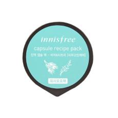 Маска для проблемной кожи с маслом чайного дерева и экстрактом дерева Торреи Innisfree Capsule Recipe Pack - Jeju Bija And Tea Tree