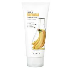 Пенка с бананом для эластичности кожи It's Skin Have A Banana Cleansing Foam