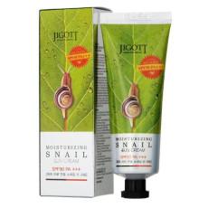 Солнцезащитный крем с улиткой Jigott Angel's In The Sky Sun Cream Snail