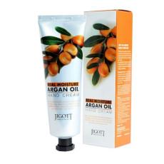 Крем для рук с маслом арганы Jigott Real Moisture Hand Cream Argan Oil