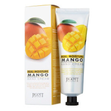 Крем для рук с манго Jigott Real Moisture Hand Cream Mango