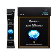 Ночной крем с экстрактом медузы JMSolution Active Jellyfish Sleeping Cream Prime