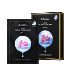 Антиоксидантная тканевая маска для восстановления кожи  экстрактом орхидеи JMsolution Active Orchid Moisture Mask