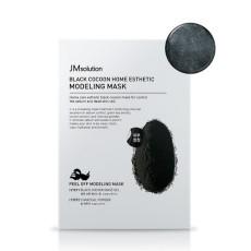 Моделирующая маска с протеинами шелкопряда и углем JMsolution Cocoon Home Esthetic Modeling Mask - Black