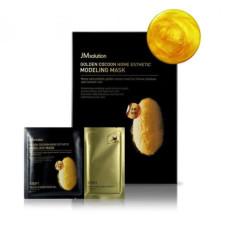 Моделирующая маска с протеинами золотого шелкопряда JMsolution Cocoon Home Esthetic Modeling Mask - Gold