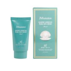 Увлажняющий солнцезащитный крем SPF50 PA++++ JMsolution Marine Luminous Pearl Sun Cream