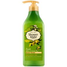 Гель для душа оливки и зеленый чай KeraSys Shower Matte Olive & Green Tea