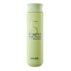 Шампунь для волос с пробиотиками и яблочным уксусом против перхоти Masil 5 Probiotics Apple Vinegar Shampoo