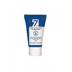 Пенка для умывания с гиалуроновой кислотой May Island 7 Days Secret 4D Hyaluronic Cleansing Foam