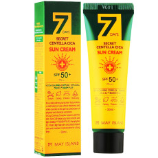 Солнцезащитный крем с центеллой SPF50+/PA+++ May Island 7 Days Secret Centella Cica Sun Cream